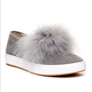 Steve Madden Emily Feather Sneakers